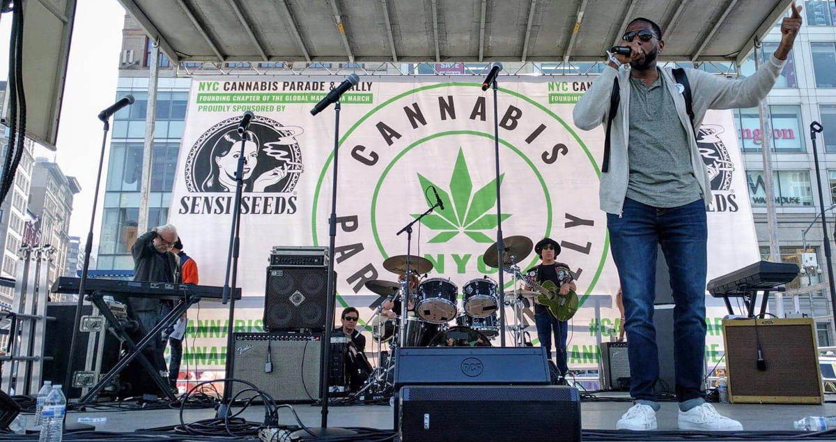 PUBLIC ADVOCATE JUMAANE WILLIAMS CALLS ON GOV. CUOMO TO 'LEGALIZE IT' AT 2019 NYC CANNABIS PARADE & RALLY